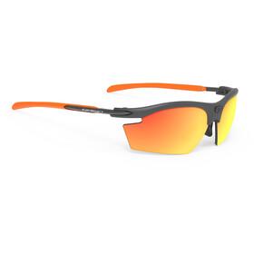 Rudy Project Rydon Okulary rowerowe szary/pomarańczowy